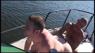 Taking a Fist on a Boat