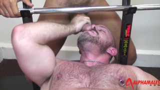 Lucio Saints Fucking Samuel Colt in Gym