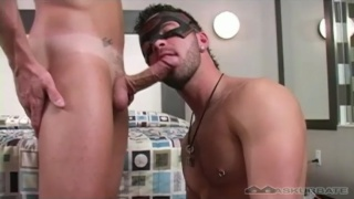 Derek gets fucked by Chris in a mask