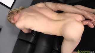 Blond Bi Dude Loves Dildo Fucking