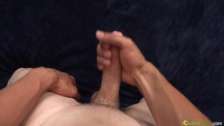 Doyle Does First Jack Off Video