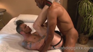 Fucking Damon Dogg's Jockstrapped Ass