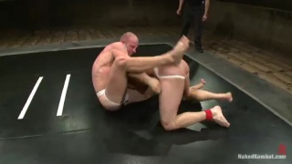 Patrick Rouge vs Phenix Saint - Nude Wrestling