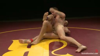 Bryan Cole & Hayden Richards Nude Wrestling