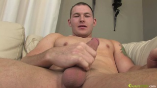 Serial jerker blows another load