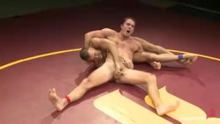 Nude Wrestlers Cameron Kincade & Connor Patricks