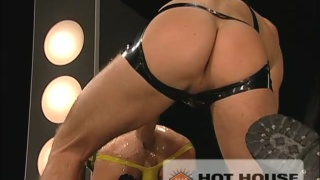 Greedy hole gets punch fucked