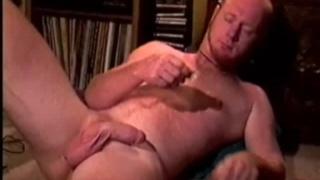 Scruffy Redhead Masturbating