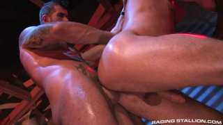 Raging Stallion's Cock Tease with Adam Killian & Caleb Colton