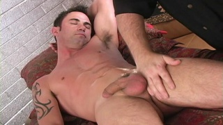 Rimjob for a straight boy
