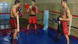 Boxer Hunks Fucking in the Ring