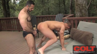 Adam Champ Fucks JR Bronson