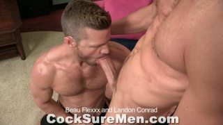 Beau Flexxx Fucks Landon Conrad