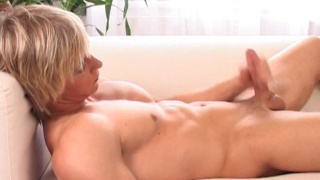 Hot blond straight guy
