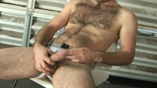 Hairy young guy