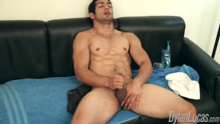Marco Nanni Enjoys his Cock
