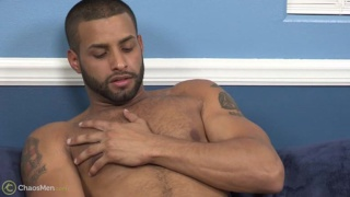 sexy bearded carlos garcia jacking off