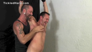 Straight Guy Tied Up and Tickled