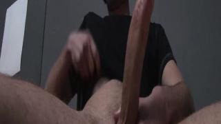 Wolf Hall Jacks his 8-Inch Cock