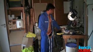 garage mechanic fucks his boss
