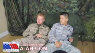 military guys in cumshot compilation