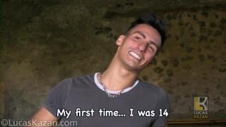 hung italian stud does JO audition