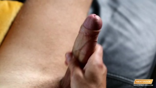ripped russian stud beating off