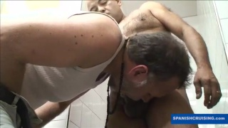 Sucking Off Trucked in Public Toilet