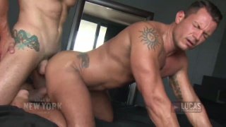 Submissive latin lover fucked