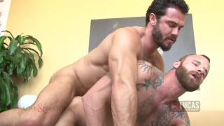 Jessy Ares fucks Derek Parker at Lucas Entertainment