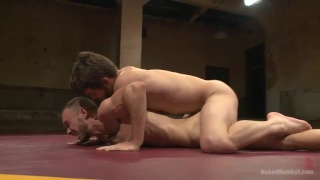 Kirk Cummings and Duncan Black wrestle and fuck