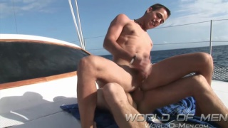 lazy day on a boat sucking and fucking