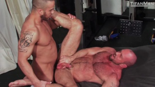 titan men's sweat with matt stevens & alex graham