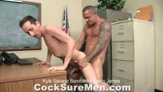 Kyle Savage Fuck Tyson James Raw