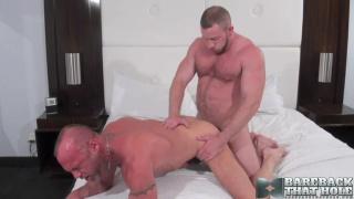Shay Michaels and Chad Brock at bareback that hole
