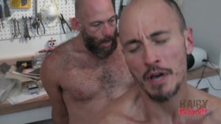 bearded daddy sailor raw fucking parker boyd