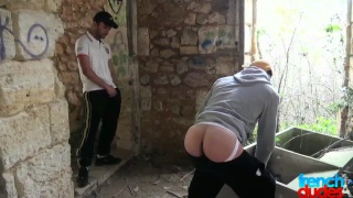 guys hook up in abandoned building