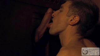 priest gets his cock sucked in confessional