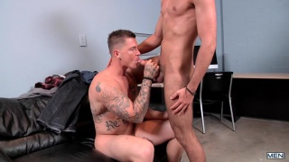 sebastian young gives sam northman his first fuck