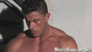 Amerigo Jackson strokes his cock