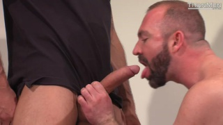 handsome hunk services a hung cowboy