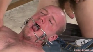 Straight Man Gagged, Fucked and Gagged