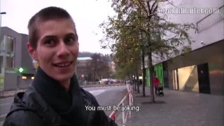 cute czech guy picked up on street for sex