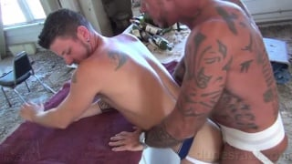 hairy real-life lovers fuck raw