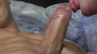 night time sex with a huge cock