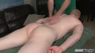 perry's first happy-ending massage from a guy