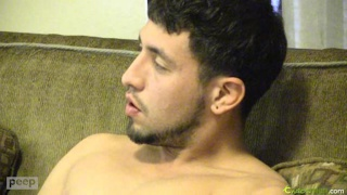 Latin Amateur Aron Jacking Off