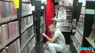 Chav Picks Up in a Video Store