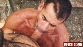 David Camacho Fucks Ben Venido in a Sling