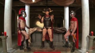 roman slaves serve their gladiators